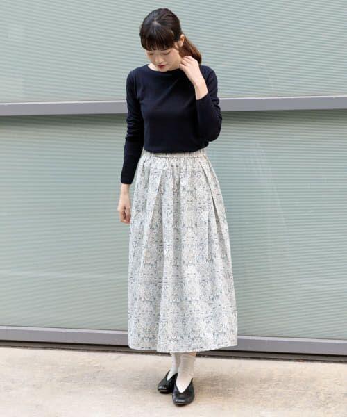 かぐれ / かぐれ スカート | リバティプリントギャザースカート | 詳細9