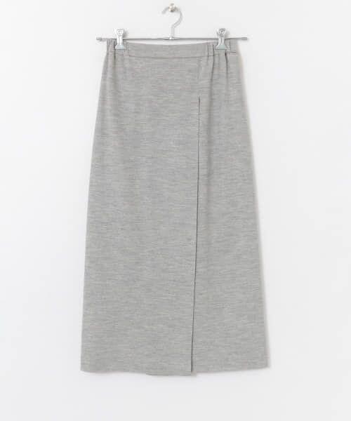 かぐれ / かぐれ スカート | ウールカットソーストレートスカート | 詳細10