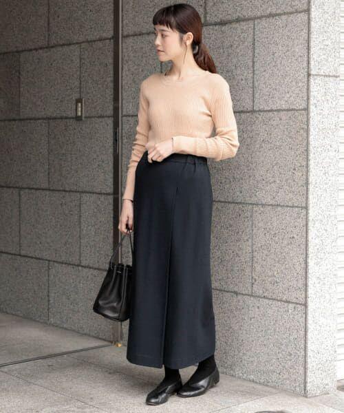 かぐれ / かぐれ スカート | ウールカットソーストレートスカート | 詳細5