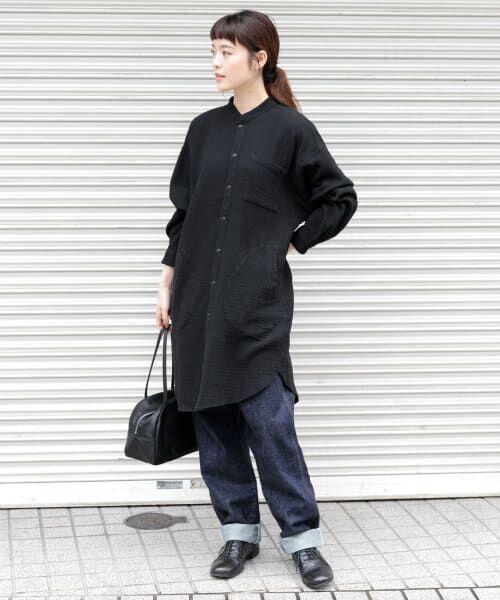 かぐれ / かぐれ チュニック | ダブルガーゼチュニックシャツ | 詳細7