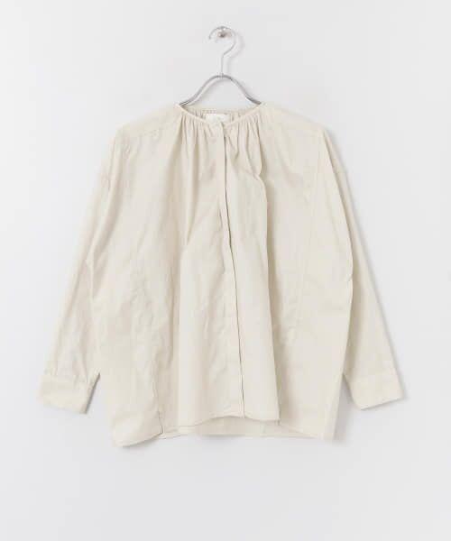 かぐれ / かぐれ シャツ・ブラウス   コットンオックスギャザーシャツ   詳細10