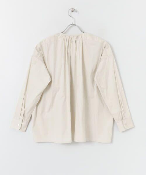 かぐれ / かぐれ シャツ・ブラウス   コットンオックスギャザーシャツ   詳細14