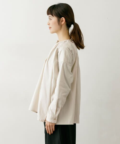 かぐれ / かぐれ シャツ・ブラウス   コットンオックスギャザーシャツ   詳細7