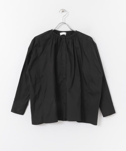かぐれ / かぐれ シャツ・ブラウス   コットンオックスギャザーシャツ   詳細9
