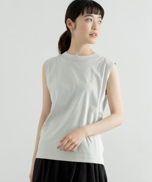 かぐれ / かぐれ Tシャツ   ロータスコットンノースリーブ(MINT)