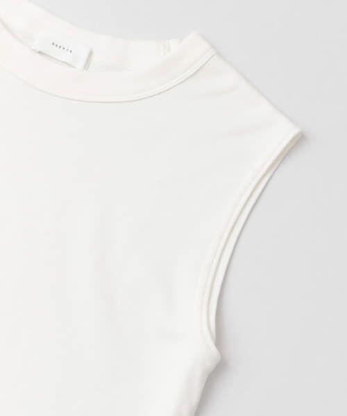 かぐれ / かぐれ Tシャツ   ロータスコットンノースリーブ   詳細13