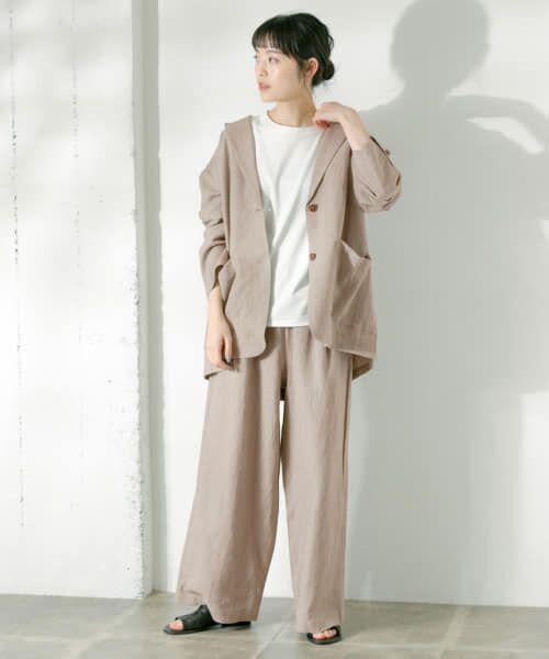 かぐれ / かぐれ Tシャツ   ロータスコットンノースリーブ   詳細2