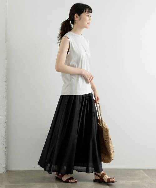 かぐれ / かぐれ Tシャツ   ロータスコットンノースリーブ   詳細3