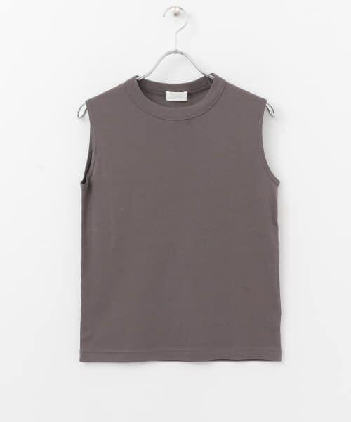 かぐれ / かぐれ Tシャツ   ロータスコットンノースリーブ   詳細7