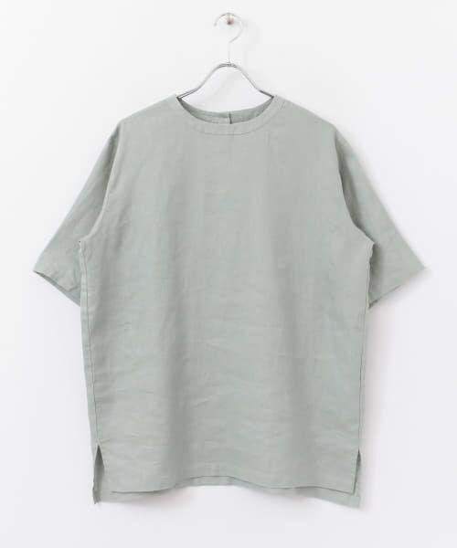 かぐれ / かぐれ シャツ・ブラウス | リネンプルオーバーシャツ | 詳細27