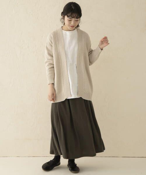 かぐれ / かぐれ スカート   ウールカットギャザースカート   詳細1