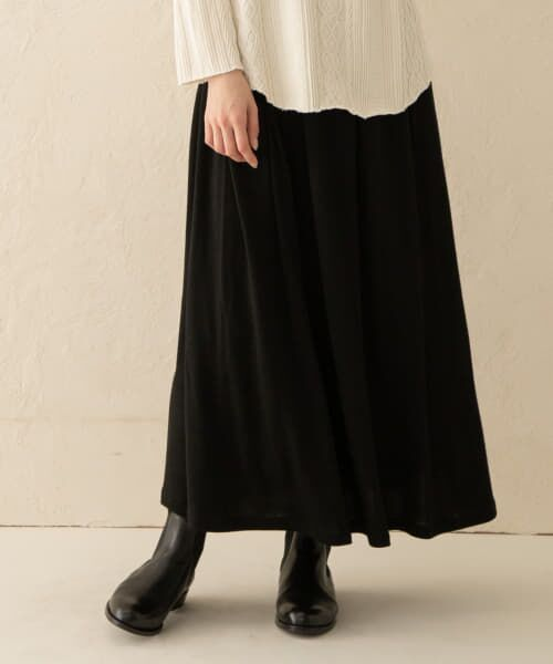 かぐれ / かぐれ スカート   ウールカットギャザースカート   詳細10