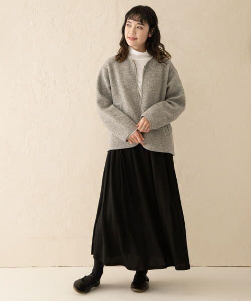 かぐれ / かぐれ スカート   ウールカットギャザースカート   詳細9