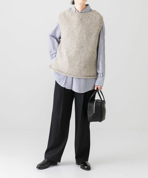 かぐれ / かぐれ ニット・セーター | ペルーニットベスト | 詳細10