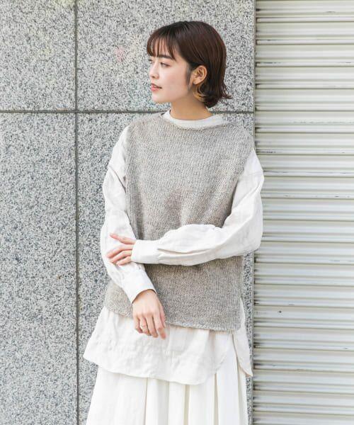 かぐれ / かぐれ ニット・セーター | ペルーニットベスト | 詳細13