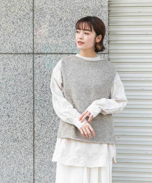 かぐれ / かぐれ ニット・セーター | ペルーニットベスト | 詳細14