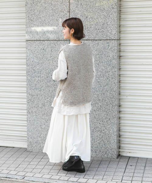 かぐれ / かぐれ ニット・セーター | ペルーニットベスト | 詳細18