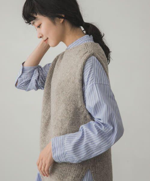 かぐれ / かぐれ ニット・セーター | ペルーニットベスト | 詳細2