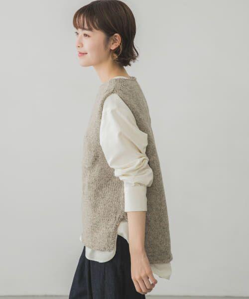 かぐれ / かぐれ ニット・セーター | ペルーニットベスト | 詳細21