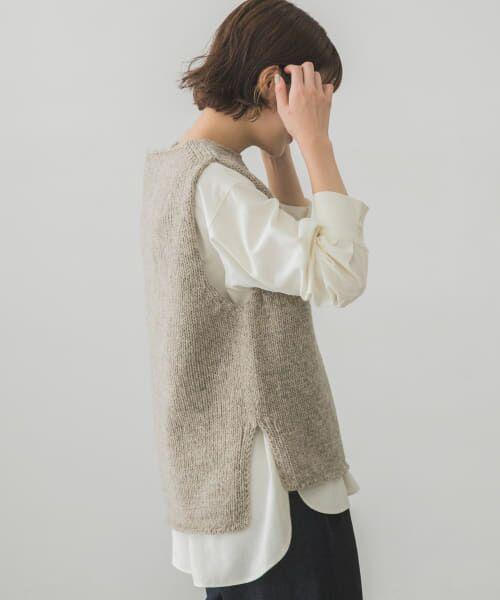 かぐれ / かぐれ ニット・セーター | ペルーニットベスト | 詳細22
