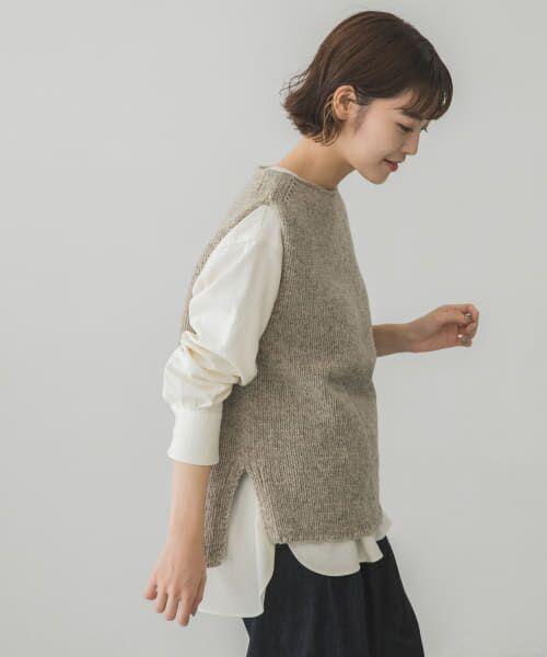かぐれ / かぐれ ニット・セーター | ペルーニットベスト | 詳細23