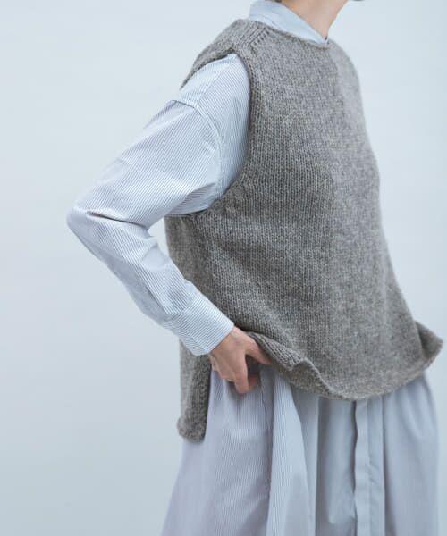 かぐれ / かぐれ ニット・セーター | ペルーニットベスト | 詳細27