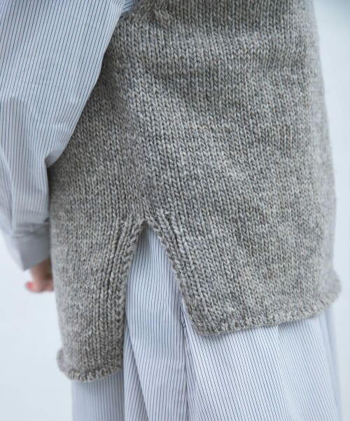 かぐれ / かぐれ ニット・セーター | ペルーニットベスト | 詳細28