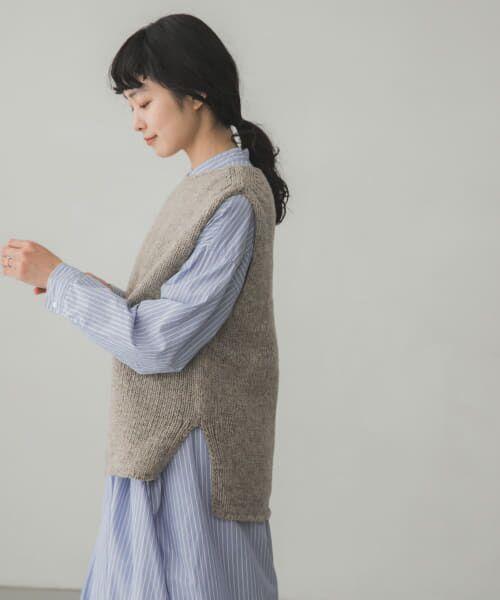 かぐれ / かぐれ ニット・セーター | ペルーニットベスト | 詳細4