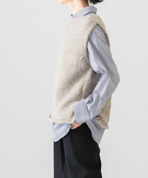 かぐれ / かぐれ ニット・セーター | ペルーニットベスト | 詳細8