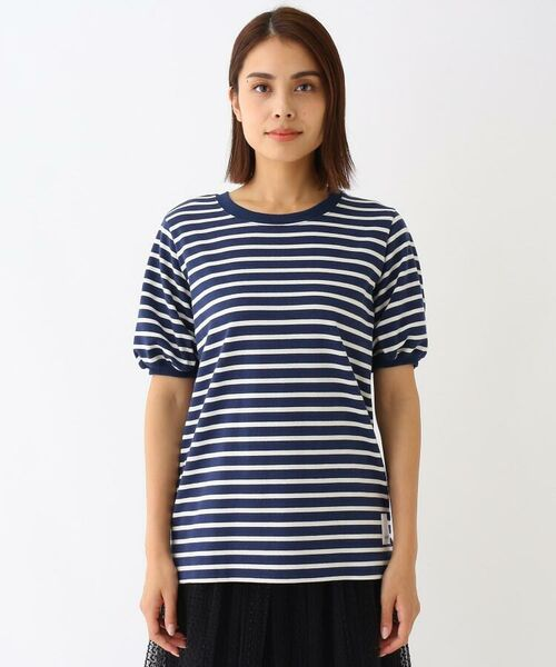 Kaon / カオン その他トップス | コットンボーダーTシャツ | 詳細1