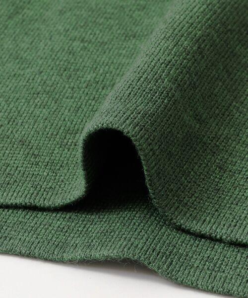 KBF / ケービーエフ ニット・セーター | オフVネックニット | 詳細20