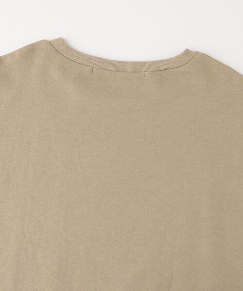 KBF / ケービーエフ Tシャツ | KBF+ 袖リボンスエットトップス | 詳細13
