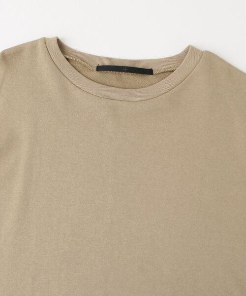 KBF / ケービーエフ Tシャツ | KBF+ 袖リボンスエットトップス | 詳細8