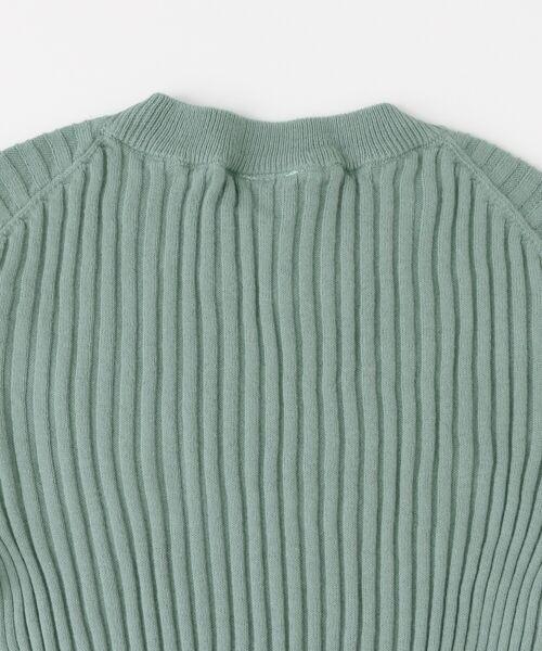 KBF / ケービーエフ ニット・セーター | illi リブクルーネックニット | 詳細14