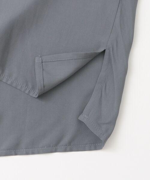 KBF / ケービーエフ シャツ・ブラウス | KBF+ 衿折り返しブラウス | 詳細10