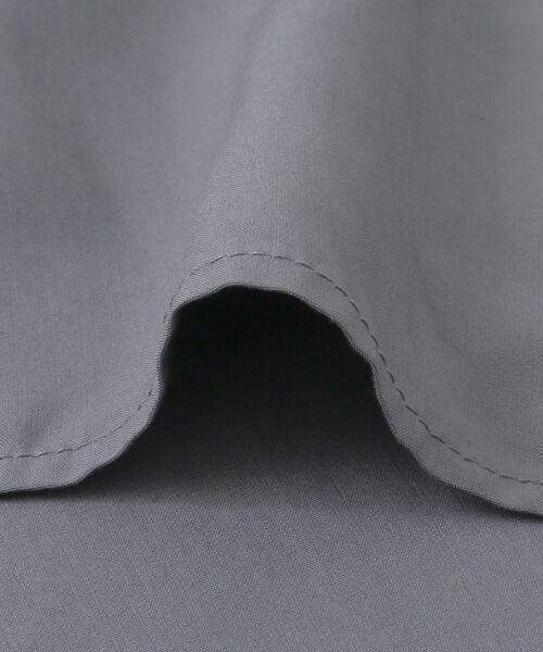 KBF / ケービーエフ シャツ・ブラウス | KBF+ 衿折り返しブラウス | 詳細11