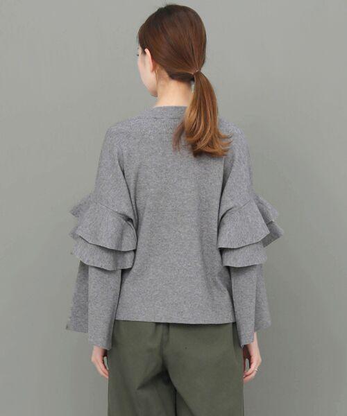 KBF / ケービーエフ ニット・セーター | フリルスリーブニット | 詳細19