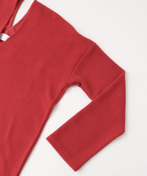 KBF / ケービーエフ Tシャツ | ロングスリーブワッフルプルオーバー | 詳細17