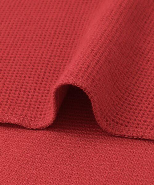 KBF / ケービーエフ Tシャツ | ロングスリーブワッフルプルオーバー | 詳細20