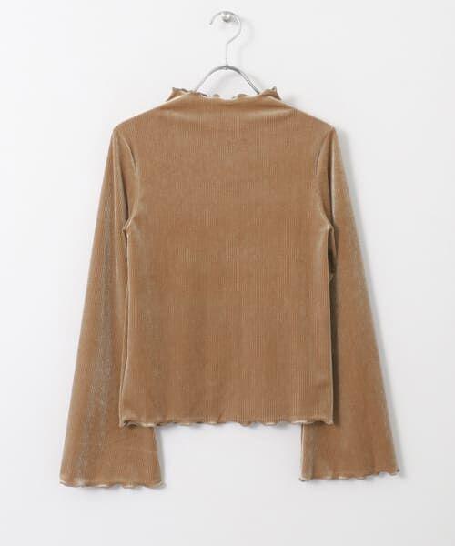 KBF / ケービーエフ Tシャツ | ベロアテレコTシャツ(CAMEL)