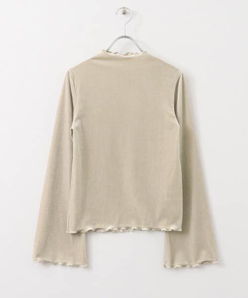 KBF / ケービーエフ Tシャツ | ベロアテレコTシャツ(GREGE)