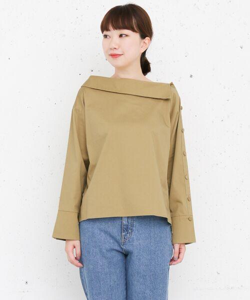 KBF / ケービーエフ Tシャツ | KBF+ ショルダーボタンシャツ | 詳細4