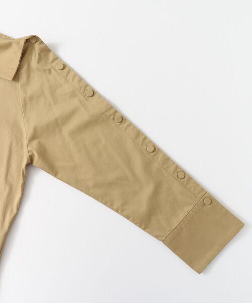 KBF / ケービーエフ Tシャツ | KBF+ ショルダーボタンシャツ | 詳細8