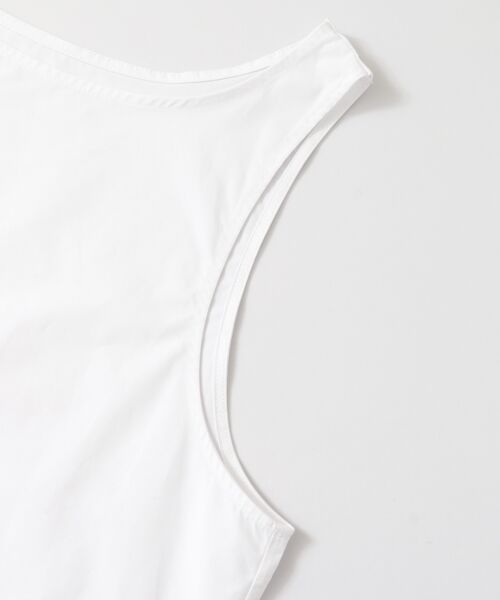 KBF / ケービーエフ Tシャツ   ウールmixタンク付きレイヤードカットソー   詳細15