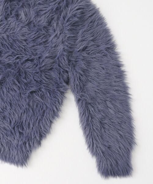 KBF / ケービーエフ ニット・セーター | WEB限定 フェザーヤーンクルーニット | 詳細21