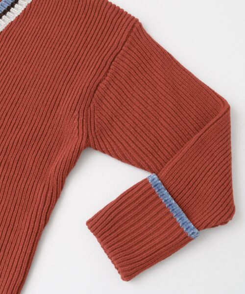 KBF / ケービーエフ ニット・セーター | WEB限定 カラーリブニット | 詳細17