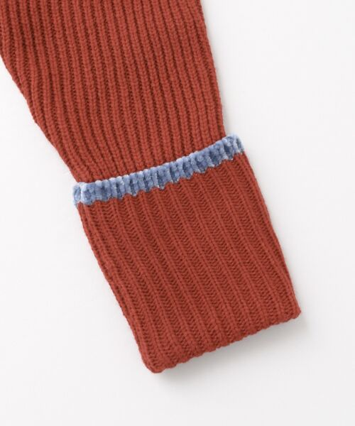 KBF / ケービーエフ ニット・セーター | WEB限定 カラーリブニット | 詳細18