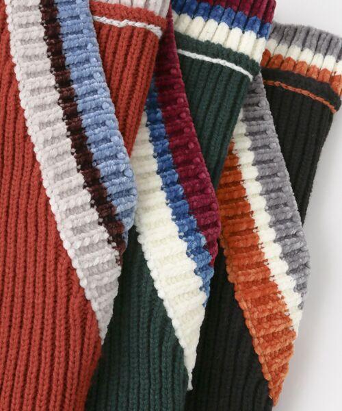 KBF / ケービーエフ ニット・セーター | WEB限定 カラーリブニット | 詳細21