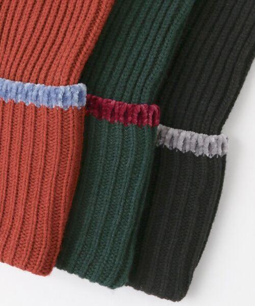 KBF / ケービーエフ ニット・セーター | WEB限定 カラーリブニット | 詳細22