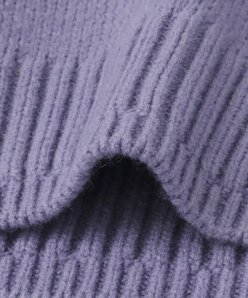 KBF / ケービーエフ ニット・セーター | WEB限定 カラーリンキングVネックニット | 詳細20